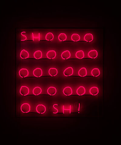 David Shrigley, 'Shoooosh! (red)', 2018