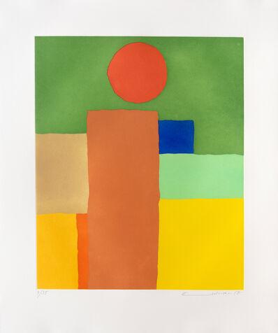 Etel Adnan, 'Equilibre', 2018