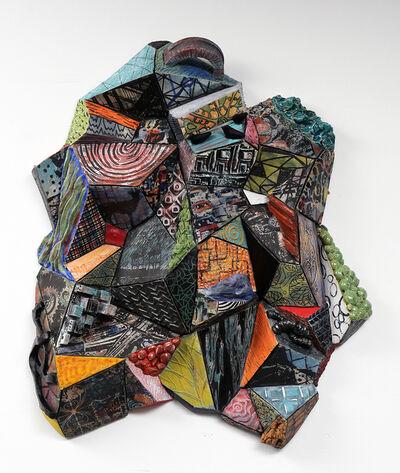 TIFFANY SCHMIERER, 'Patternscape: Facets 2', 2015