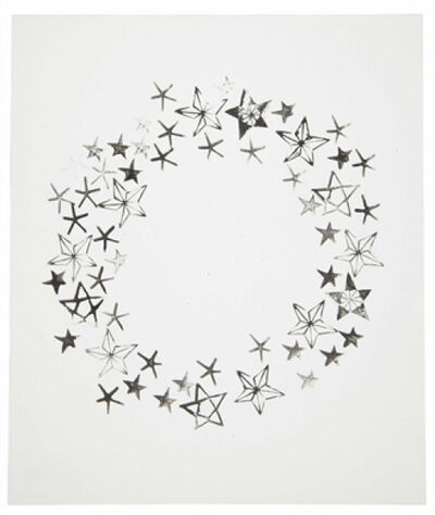 Andy Warhol, 'Wreath and Stars', 1954