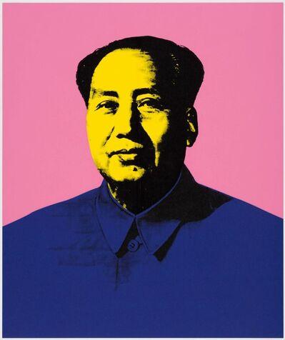 Paul Stephenson, 'Mao - Acra Violet, Cadmium Yellow Medium, Prussian Blue', 2020