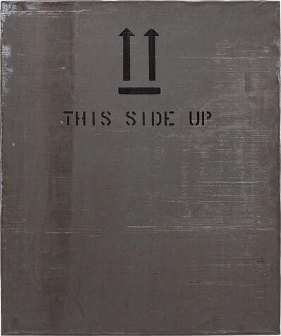 Martin Kippenberger, 'This Side Up', 1989