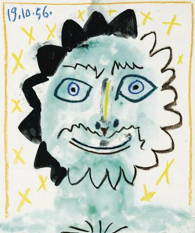 Pablo Picasso, 'Tête Soleil', 1956