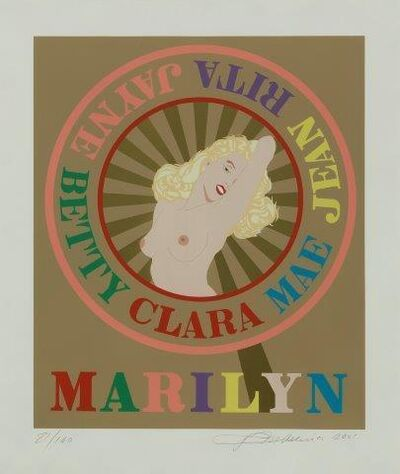 Robert Indiana, 'Marilyn', 2001