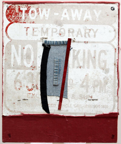George Herms, 'Temporary No King', 1998