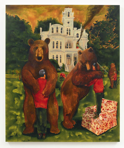 Jackson Casady, 'The Bear and the Blaze', 2020