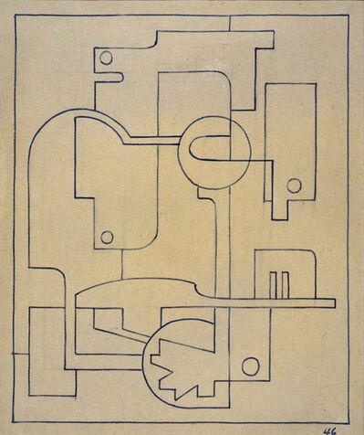 José Pedro Costigliolo, 'Composición maquinista', 1946