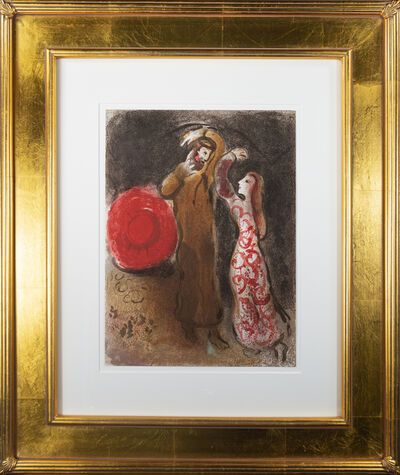 Marc Chagall, 'Recobntre de Ruth et de Booz (Meeting of Ruth and Boaz), M 247/270', 1960