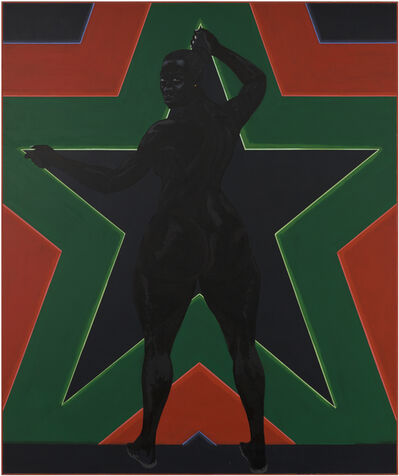 Kerry James Marshall, 'Black Star 2', 2012