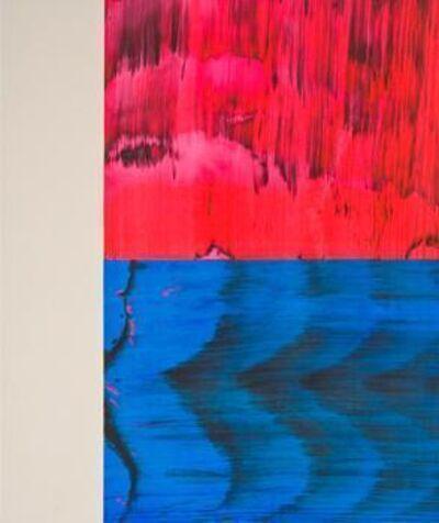 Ed Moses, 'Owel-Back-Blu', 2008