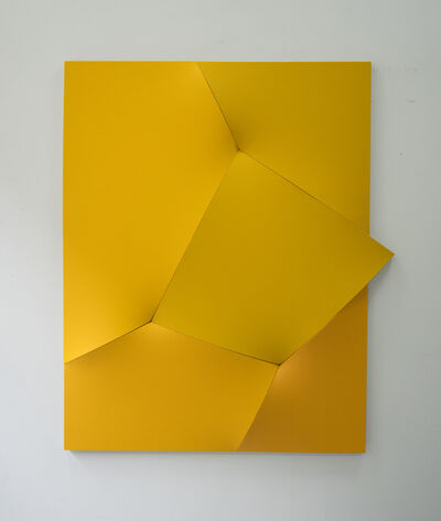 Jan Maarten Voskuil, 'Just Checking (Yellow)', 2019
