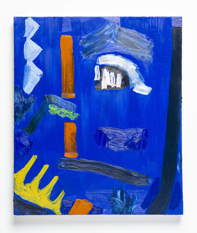 Amy Bernstein, 'Blue Painting', 2019