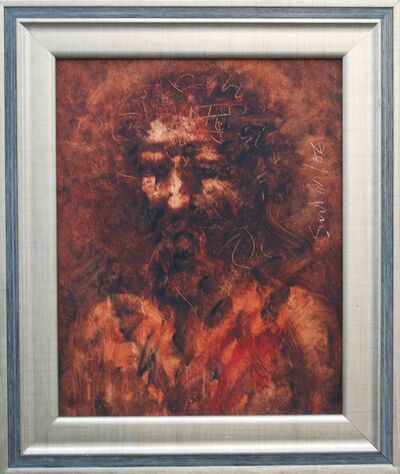 "Suhas Roy, 'Christ, Oil on Canvas by Modern Artist ""In Stock""', 2006"