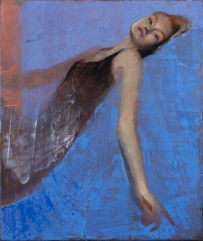 J. Louis, 'Blue Arc', 2018