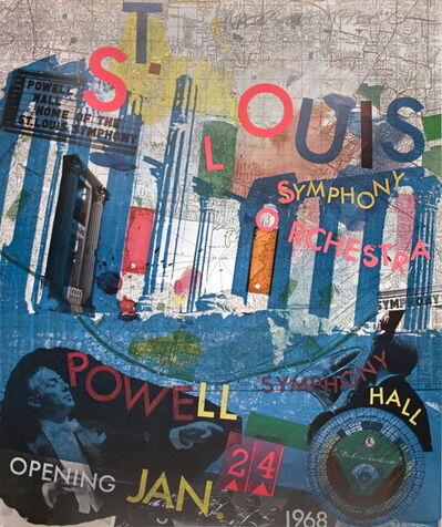 Robert Rauschenberg, 'St. Louis Symphony Orchestra', 1968