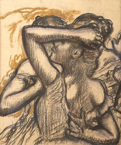 Edgar Degas, 'Trois danseuses en buste', 1898