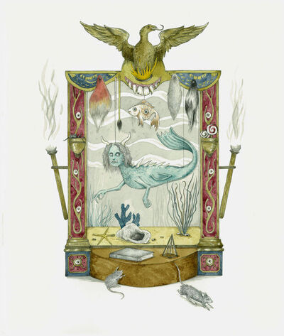 Paul Compton, 'The Little Mermaid Cabinet (framed)', 2013