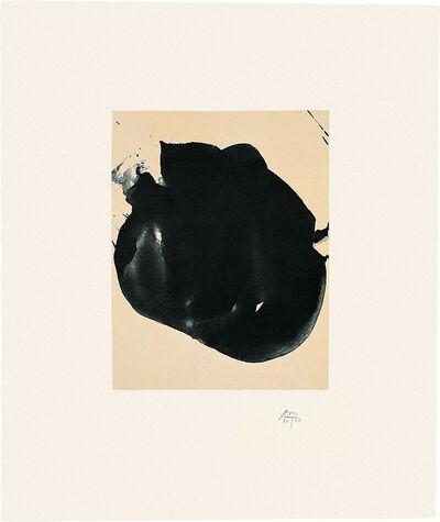 Robert Motherwell, 'Octavio Paz Suite: Nocturne II', 1988