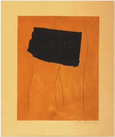 Robert Motherwell, 'Oy/Yo', 1978