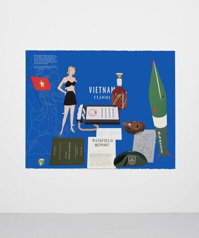 Matthew Brannon, 'Concerning Vietnam: Oval Office, October 1962', 2018