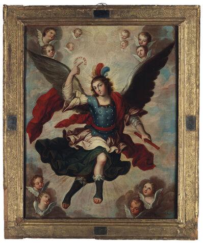 Fray Miguel Herrera, 'Archangel Michael', 1751