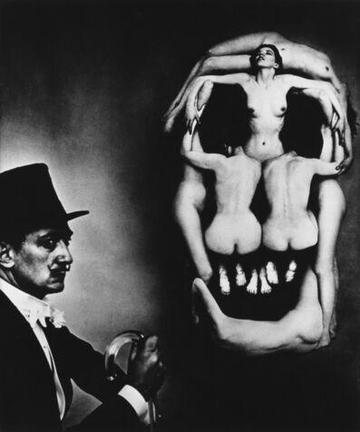 Philippe Halsman, 'Dalí Skull (In Voluptas Mors).', 1981