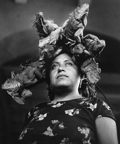 Graciela Iturbide, 'Nuestra señora de las iguanas', 1979