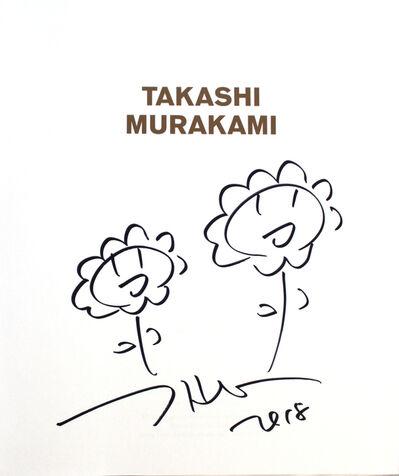 Takashi Murakami, 'Double Flowers drawing', 2018