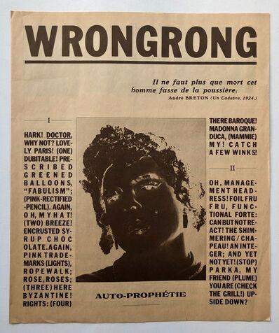 Jimmy DeSana, 'WrongWrong publication', 1987