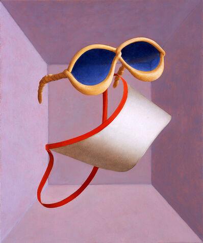 Daniel Sinsel, 'Pretzelglasses + cardboard visor', 2006