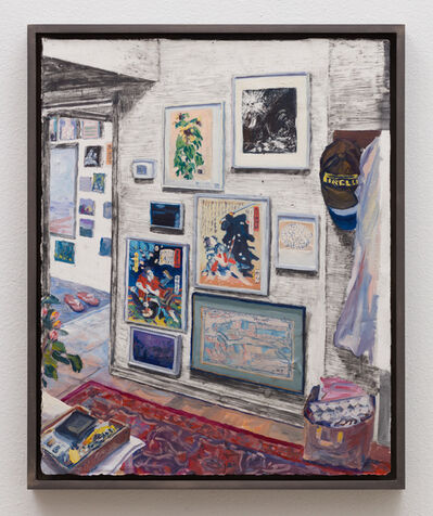 Christine Frerichs, 'View from the kitchen to the studio', 2018