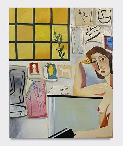 Danielle Orchard, 'Studio Wall', 2020