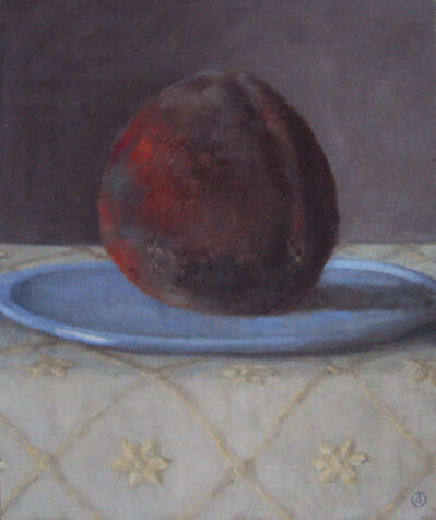 Olga Antonova, 'Peach on plate', 2021