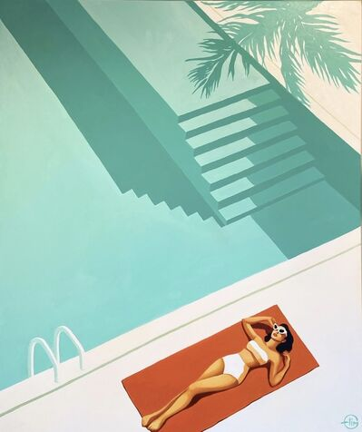 Emilie Arnoux, 'Pool Deck', 2020