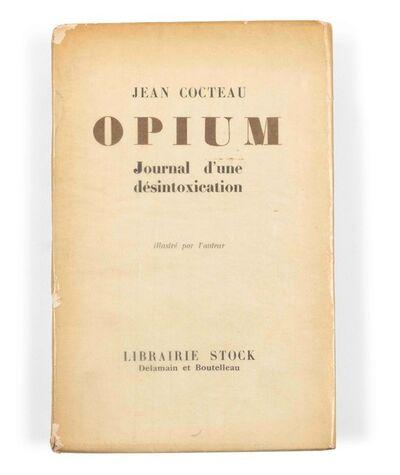"""Jean Cocteau, '""""OPIUM""""'"""