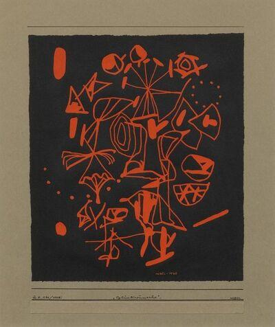 Otto Nebel, 'Glückwünsche', 1948