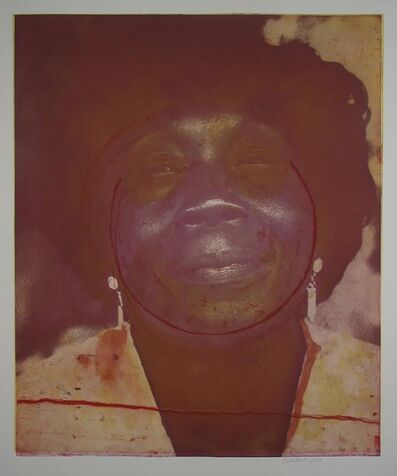 Frank Bowling, 'Mother Approaching Sixty', 2003
