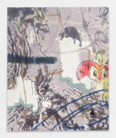 Chris Hood, 'Untitled (Smoking Hearts 1)', 2017