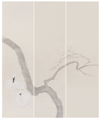 Gao Qian 高茜, 'Rocks and Branches No.1', 2018
