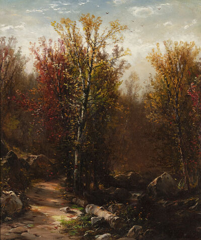 Jervis McEntee, 'In the Woods ', 19th century