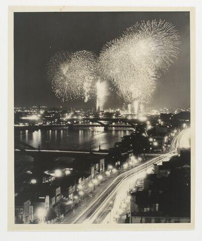 Gen Otsuka 大束 元, 'Title unknown (fireworks)', 1951