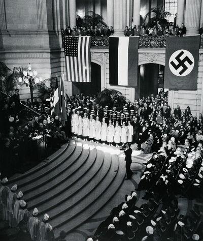 John Gutmann, 'The News Photographer. San Francisco City Hall', 1935
