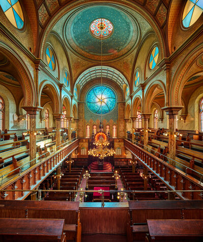 Ahmet Ertug, 'The Eldridge Street Synagogue, New York', 2020