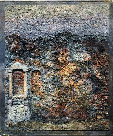 Lev Meshberg, 'Ancient Wall in Landscape', 2000