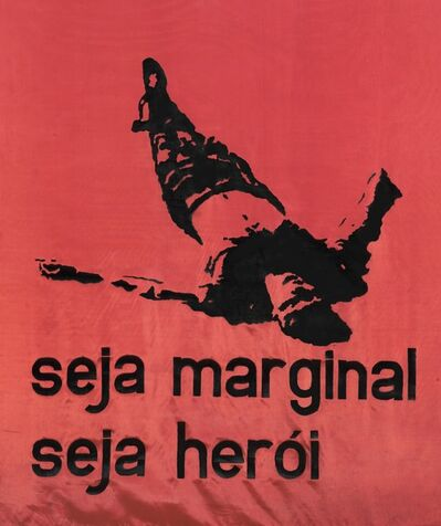 Hélio Oiticica, 'Be an Outlaw, Be a Hero (Seja Marginal, seja herói)', 1967