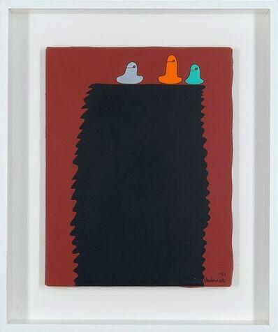 Sadamasa Motonaga, 'Three colors on top', 1991