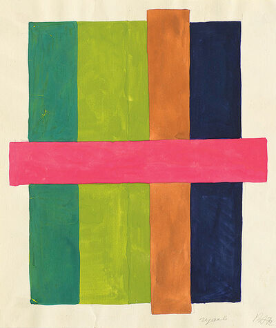 Vladimir Andreenkov, 'Vertical Lines', 1972