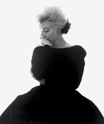 "Bert Stern, 'Marilyn Monroe: From ""The Last Sitting""  (VOGUE Black Dress)', 1962"
