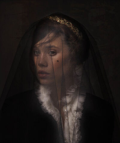 Simon Procter, 'ASTRID NUMBER TWO, Portrait of Àstrid Bergès-Frisbey', 2012