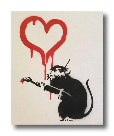 After Banksy, 'Love Rat', 2015